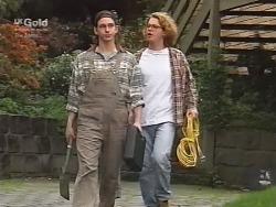 Darren Stark, Brett Stark in Neighbours Episode 2738