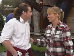 Toadie Rebecchi, Ruth Wilkinson in Neighbours Episode 2738