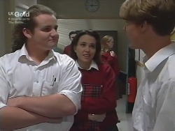 Toadie Rebecchi, Libby Kennedy, Billy Kennedy in Neighbours Episode 2738