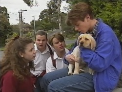Hannah Martin, Toadie Rebecchi, Billy Kennedy, Puppy, Lance Wilkinson in Neighbours Episode 2738