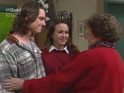 Darren Stark, Libby Kennedy, Marlene Kratz in Neighbours Episode 2738