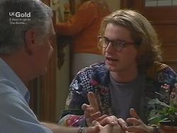 Lou Carpenter, Brett Stark in Neighbours Episode 2739