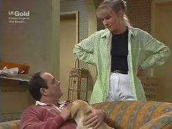 Philip Martin, Puppy, Ruth Wilkinson in Neighbours Episode 2740