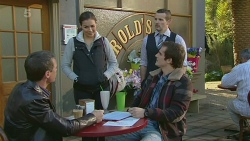 Paul Robinson, Jade Mitchell, Toadie Rebecchi, Kyle Canning in Neighbours Episode 6249