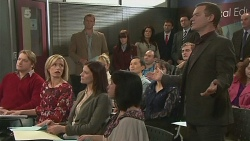 Michael Williams, Summer Hoyland, Kyle Canning, Paul Robinson in Neighbours Episode 6250