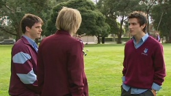 Chris Pappas, Andrew Robinson, Erik Poulos in Neighbours Episode 6252