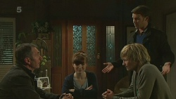 Karl Kennedy, Summer Hoyland, Andrew Robinson, Malcolm Kennedy in Neighbours Episode 6254