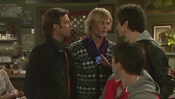 Malcolm Kennedy, Andrew Robinson, Chris Pappas, Erik Poulos in Neighbours Episode 6257