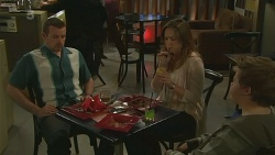 Toadie Rebecchi, Sonya Mitchell, Callum Jones in Neighbours Episode 6258