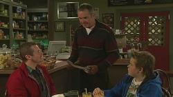 Toadie Rebecchi, Karl Kennedy, Callum Jones in Neighbours Episode 6259