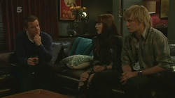 Paul Robinson, Summer Hoyland, Andrew Robinson in Neighbours Episode 6262