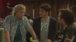 Andrew Robinson, Chris Pappas, Lucas Fitzgerald in Neighbours Episode 6263