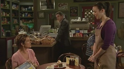 Susan Kennedy, Paul Robinson, Kate Ramsay in Neighbours Episode 6263
