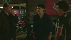 George Pappas, Chris Pappas, Lucas Fitzgerald in Neighbours Episode 6263