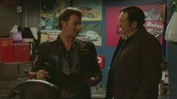 Lucas Fitzgerald, George Pappas in Neighbours Episode 6264