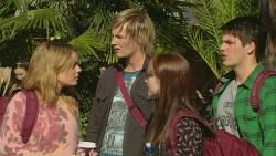 Natasha Williams, Andrew Robinson, Summer Hoyland, Chris Pappas in Neighbours Episode 6265