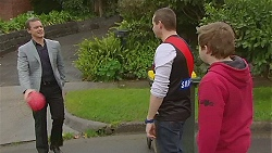 Paul Robinson, Toadie Rebecchi, Callum Jones in Neighbours Episode 6266