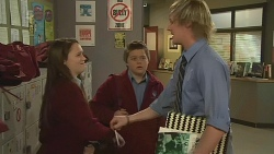 Sophie Ramsay, Callum Jones, Andrew Robinson in Neighbours Episode 6268