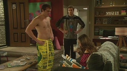 Kyle Canning, Rhys Lawson, Jade Mitchell in Neighbours Episode 6269