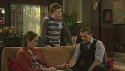 Sonya Mitchell, Callum Jones, Toadie Rebecchi in Neighbours Episode 6269