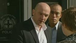 Supt. Duncan Hayes, Callum Jones in Neighbours Episode 6270