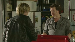 Andrew Robinson, Lucas Fitzgerald in Neighbours Episode 6270