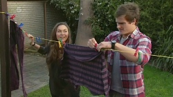 Jade Mitchell, Kyle Canning in Neighbours Episode 6271