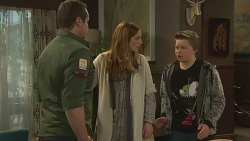 Toadie Rebecchi, Sonya Mitchell, Callum Jones in Neighbours Episode 6271