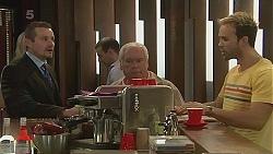 Toadie Rebecchi, Lou Carpenter, Dane Canning in Neighbours Episode 6277