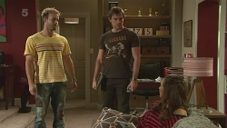 Dane Canning, Rhys Lawson, Jade Mitchell in Neighbours Episode 6278
