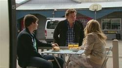 Chris Pappas, Lucas Fitzgerald, Natasha Williams in Neighbours Episode 6280