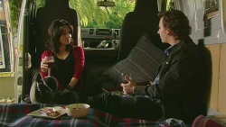 Emilia Jovanovic, Lucas Fitzgerald in Neighbours Episode 6280