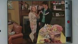 Natasha Williams, Chris Pappas in Neighbours Episode 6280