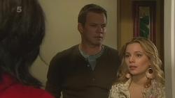 Emilia Jovanovic, Michael Williams, Natasha Williams in Neighbours Episode 6280