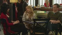 Emilia Jovanovic, Natasha Williams, Michael Williams in Neighbours Episode 6281