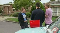 Callum Jones, Chris Pappas, Andrew Robinson in Neighbours Episode 6281