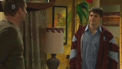 Michael Williams, Chris Pappas in Neighbours Episode 6283