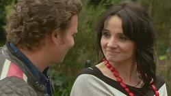 Lucas Fitzgerald, Emilia Jovanovic in Neighbours Episode 6283