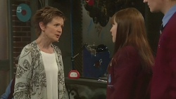Susan Kennedy, Summer Hoyland, Andrew Robinson in Neighbours Episode 6284