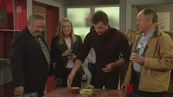 Martin Chambers, Linda Moore, Rhys Lawson, Dr Adrian Pearce in Neighbours Episode 6285