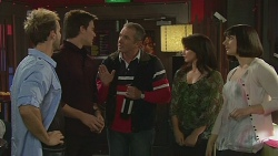 Dane Canning, Rhys Lawson, Karl Kennedy, Amber Goddard, Maggie Bryan in Neighbours Episode 6286