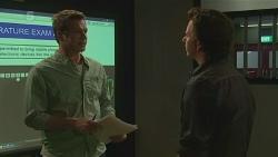 Michael Williams, Lucas Fitzgerald in Neighbours Episode 6288