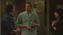 Lucas Fitzgerald, Michael Williams, Emilia Jovanovic in Neighbours Episode 6288