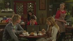 Andrew Robinson, Chris Pappas, Natasha Williams, Kate Ramsay in Neighbours Episode 6288
