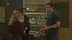 Natasha Williams, Emilia Jovanovic, Rhys Lawson in Neighbours Episode 6290