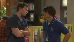 Rhys Lawson, Aidan Foster in Neighbours Episode 6290