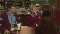 Chris Pappas, Andrew Robinson, Summer Hoyland in Neighbours Episode 6290