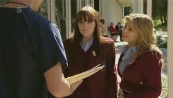 Rhys Lawson, Summer Hoyland, Natasha Williams in Neighbours Episode 6290