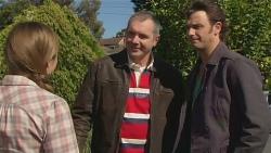 Sonya Mitchell, Karl Kennedy, Malcolm Kennedy in Neighbours Episode 6290