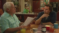 Lou Carpenter, Lucas Fitzgerald in Neighbours Episode 6293